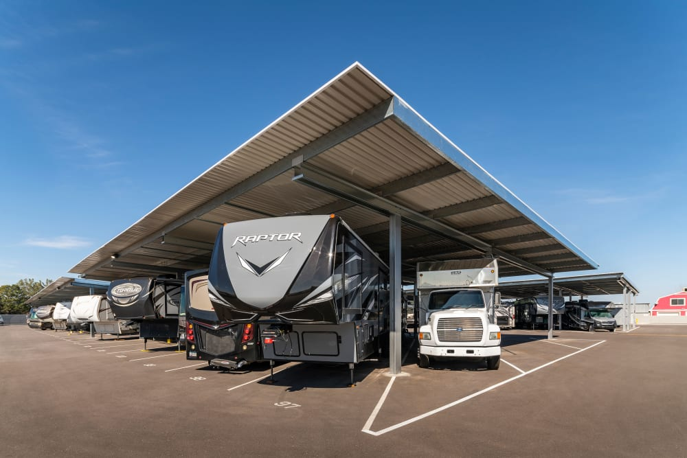 RV and Boat storage available at self storage location in Gilbert, AZ