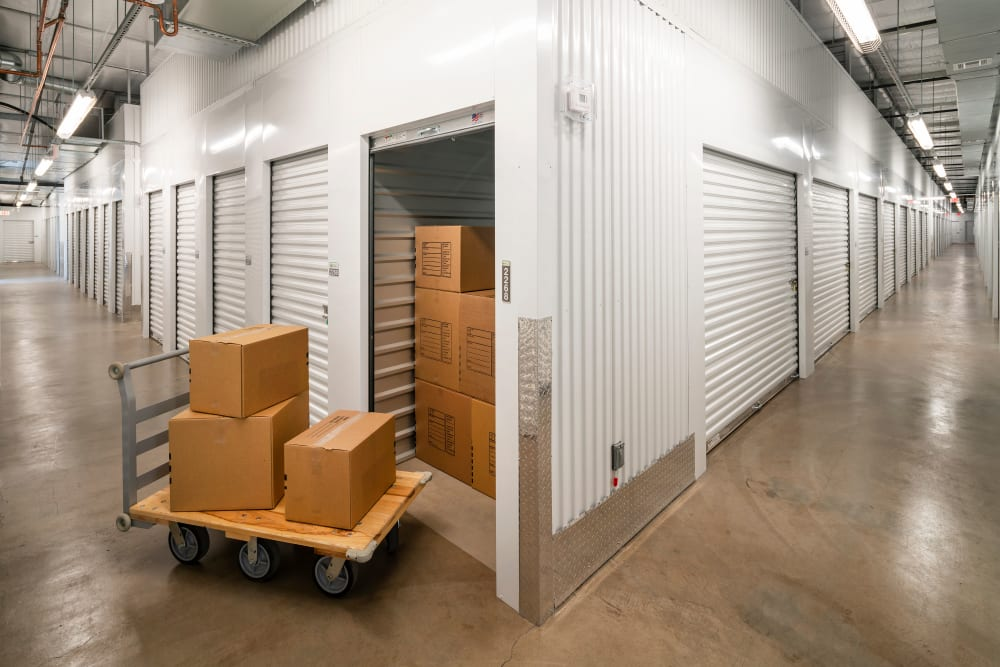 Indoor units available at self storage location in Gilbert, AZ