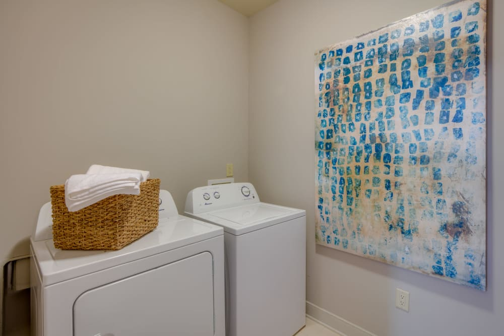 Laundry Room at McBee Station in Greenville, South Carolina