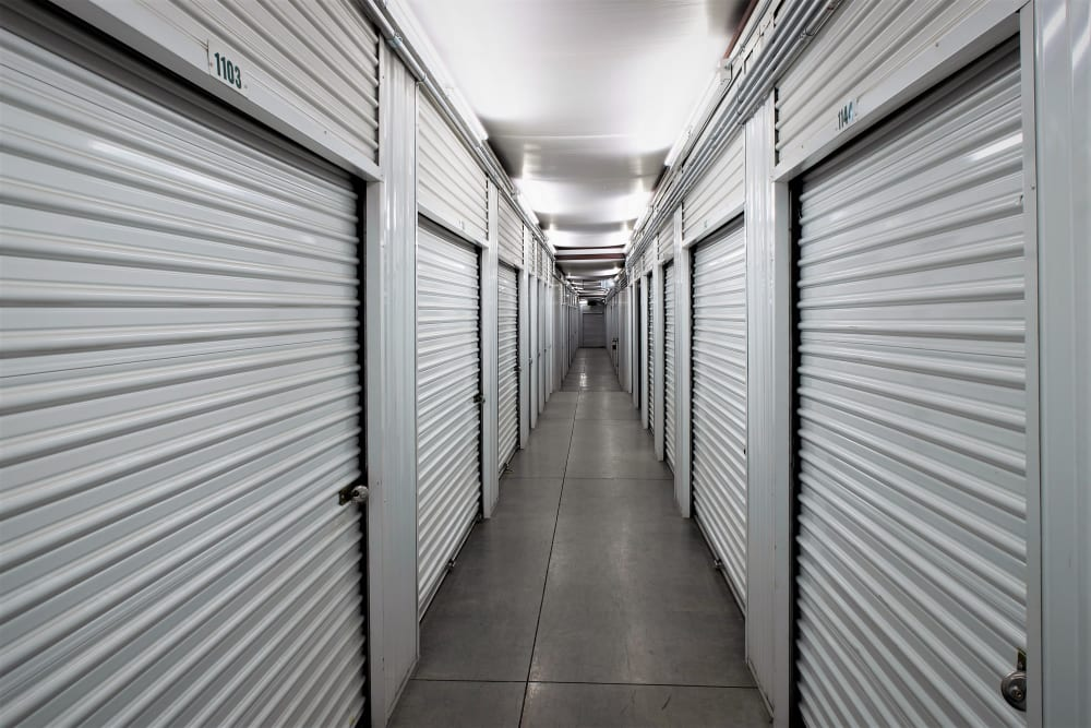 Interior units at Lock It Up Self Storage in Layton, Utah