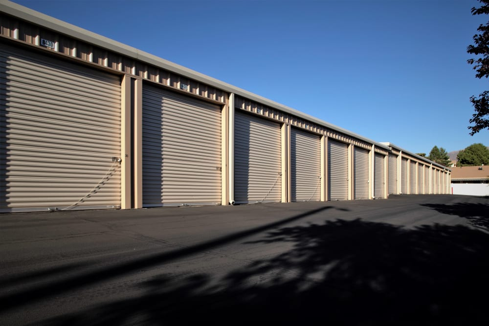 Exterior Storage Units from Lock It Up Self Storage in Clearfield, Utah
