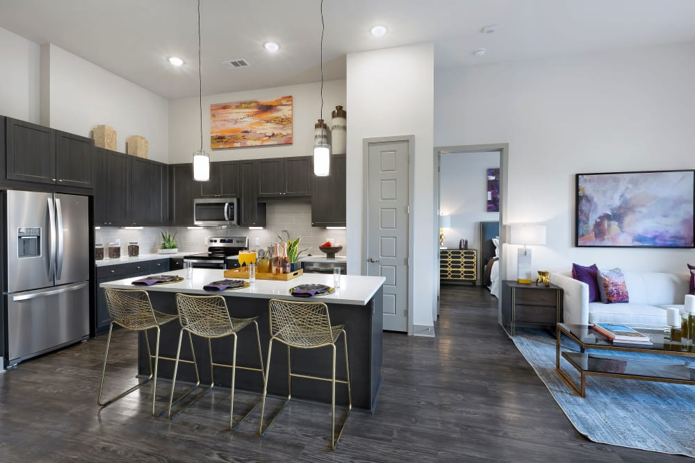 Our Apartments in Dallas, Texas offer a Kitchen