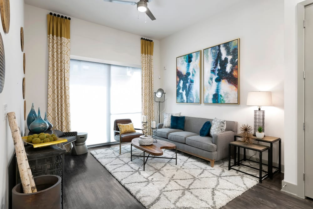 Enjoy Apartments with a Living Room at Alta Trinity Green