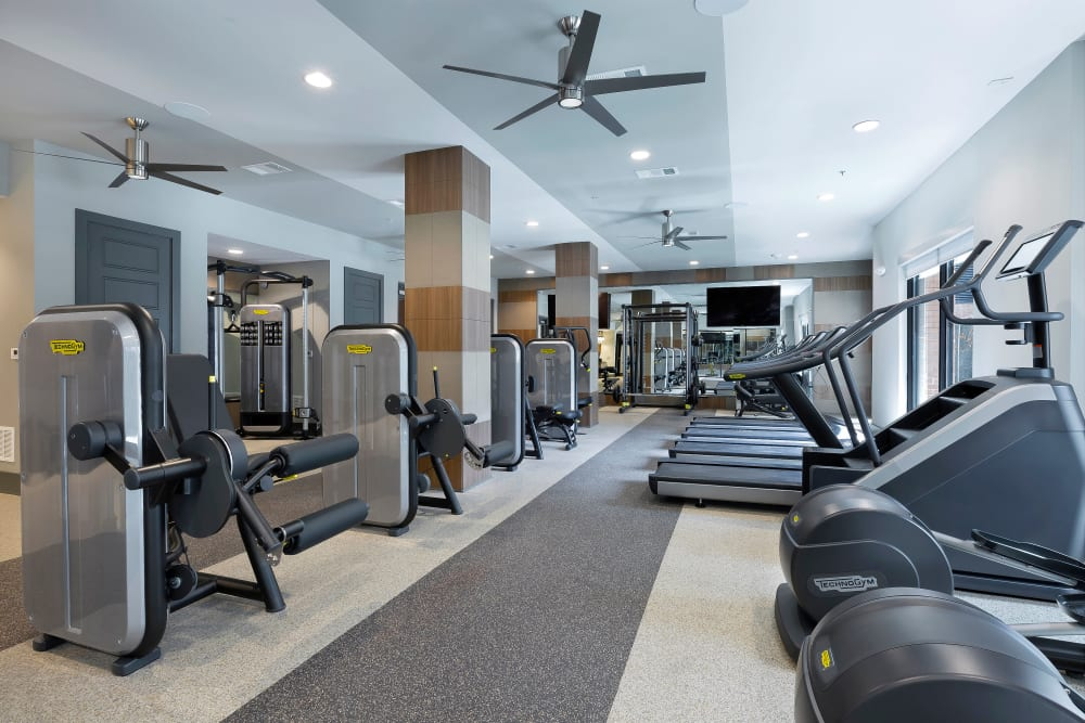 Alta Trinity Green offers a Fitness Center in Dallas, Texas