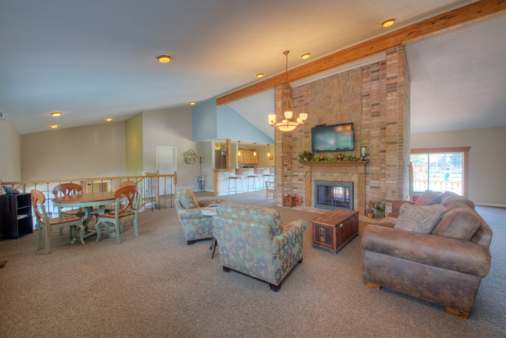 Ample space at Country Ridge in Saginaw, Michigan