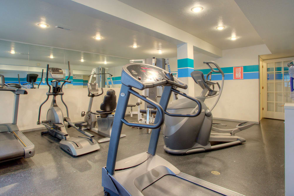 Fitness center at Country Ridge in Saginaw, Michigan