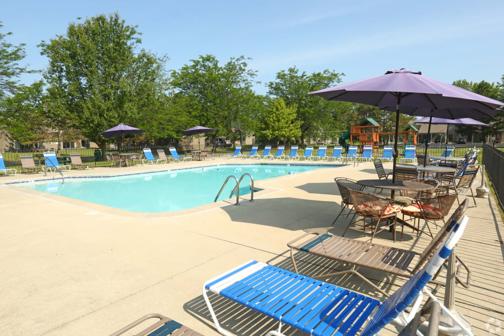Pool at Country Ridge in Saginaw, Michigan