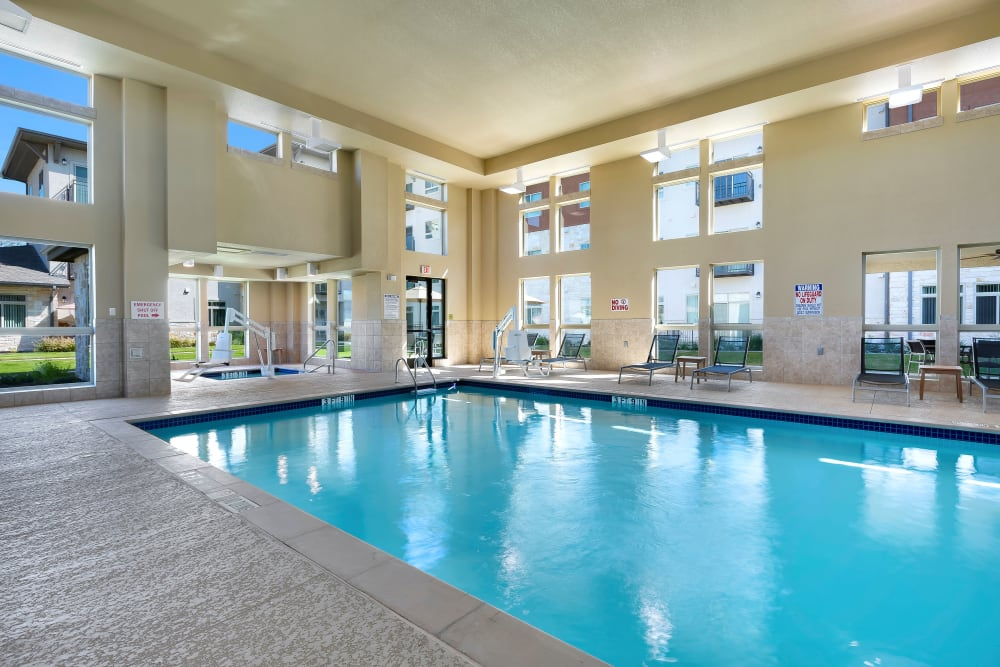 Affinity at Southpark Meadows offers an indoor pool