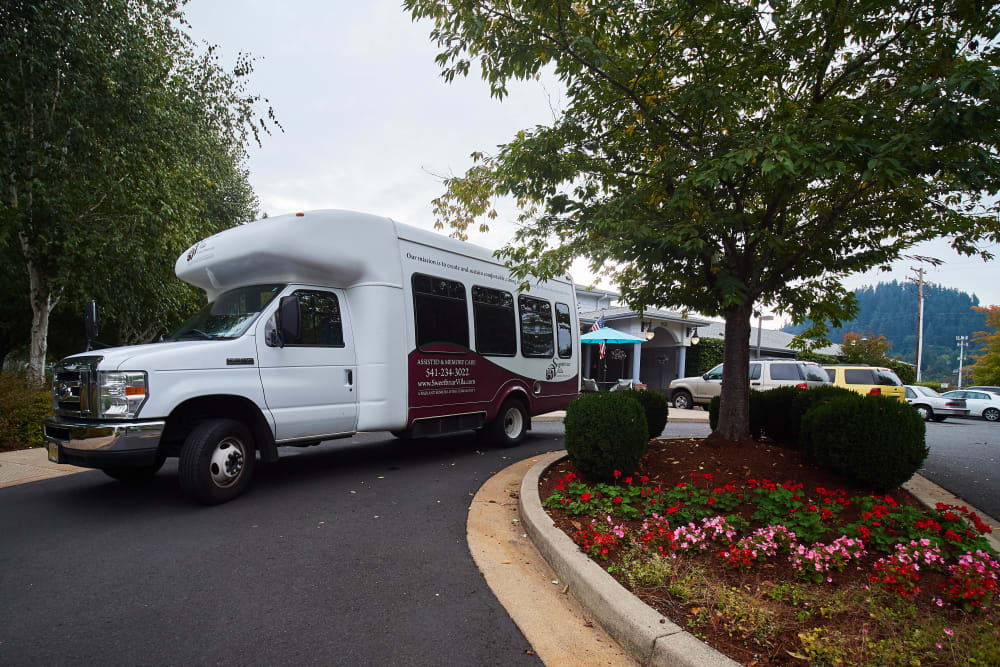 Shuttle for Sweetbriar Villa in Springfield, Oregon