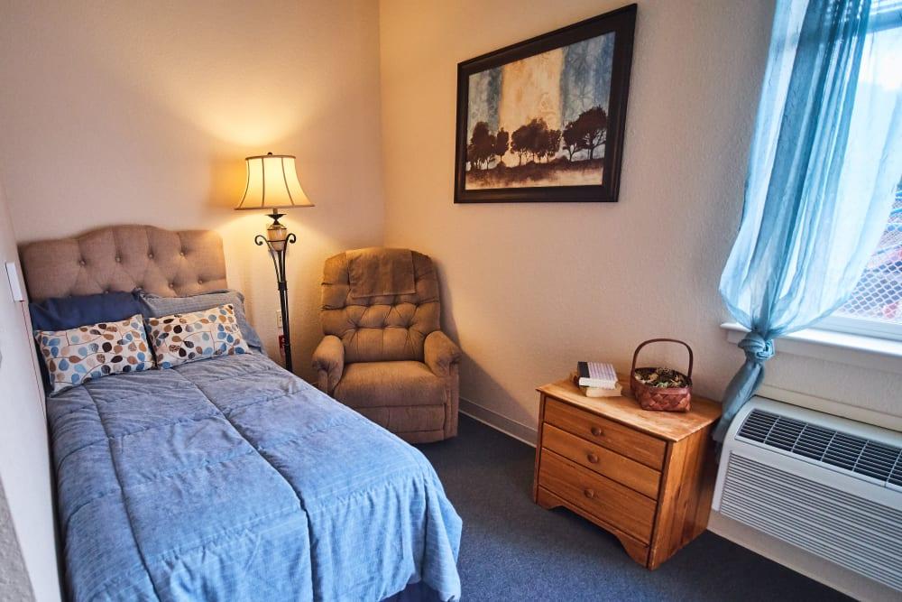 Bedroom at Sweetbriar Villa in Springfield, Oregon