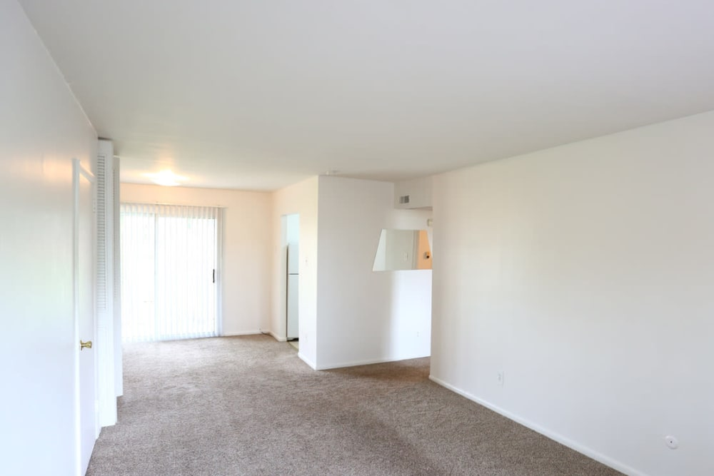 Large spacious hallways at Bishop - Stratford Court Apartments in Stratford, New Jersey