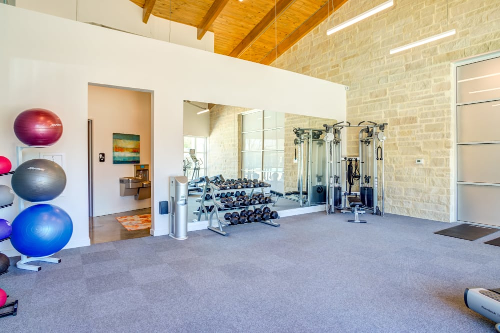 Our Apartments in Deer Park, Texas has a Gym