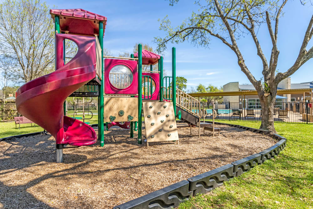 Playground at Villages at Parktown Apartments in Deer Park, Texas