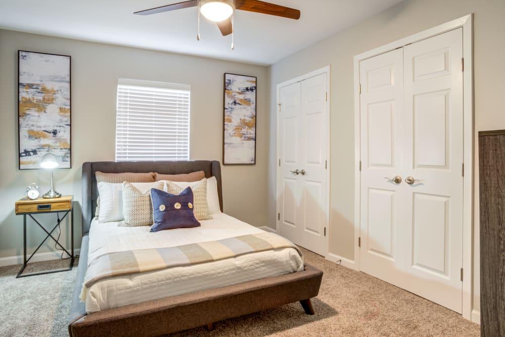 Bedroom at Apartments in Deer Park, Texas