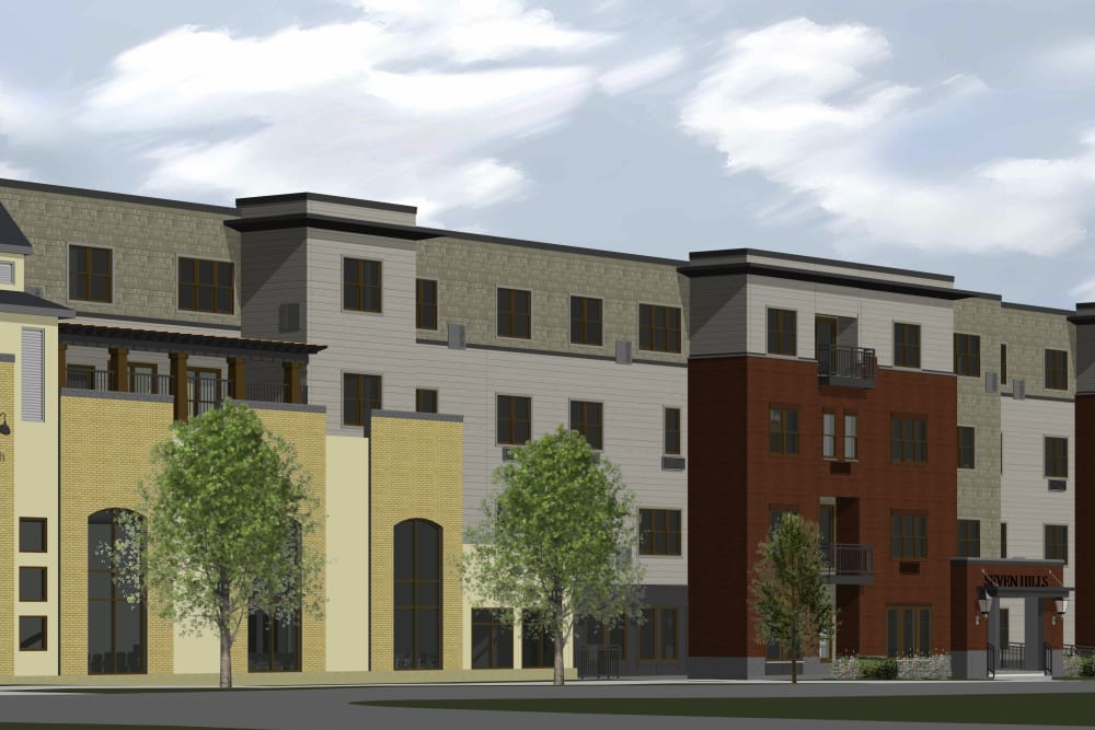 Rendering of Seven Hills Senior Living