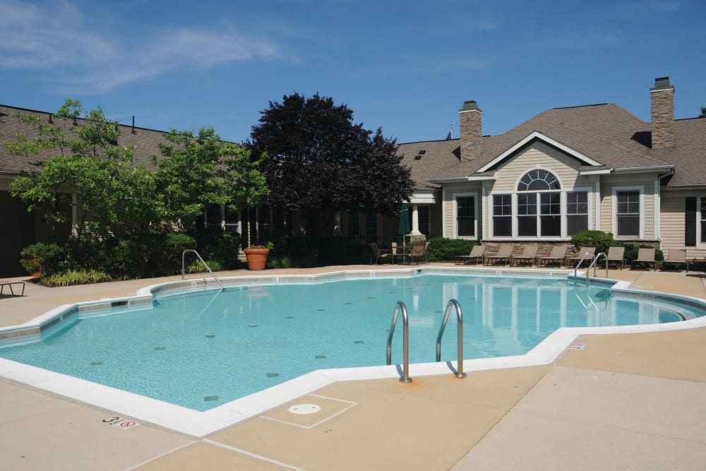 The Village at Potomac Falls Apartment Homes offers a Swimming Pool in Sterling, Virginia