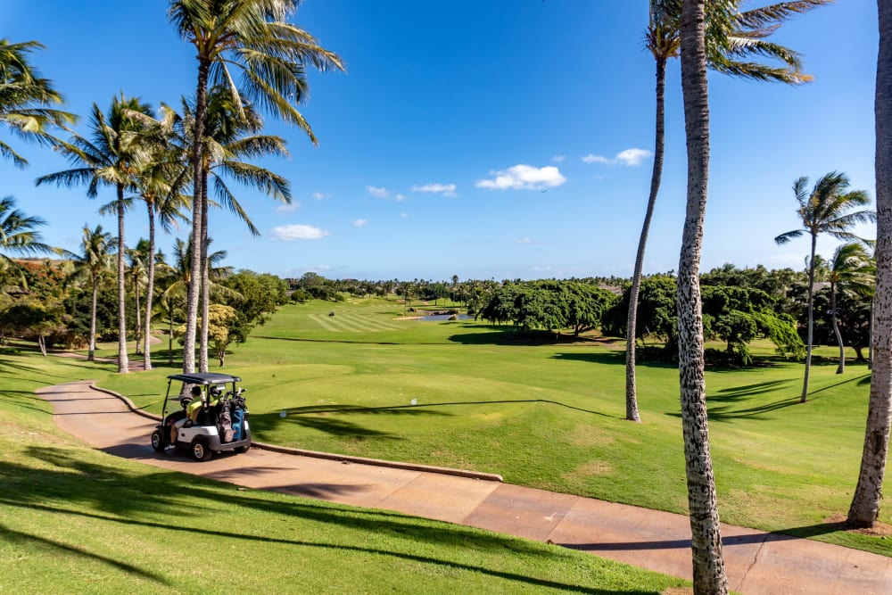 Golf course near Kapolei Lofts in Kapolei, Hawaii