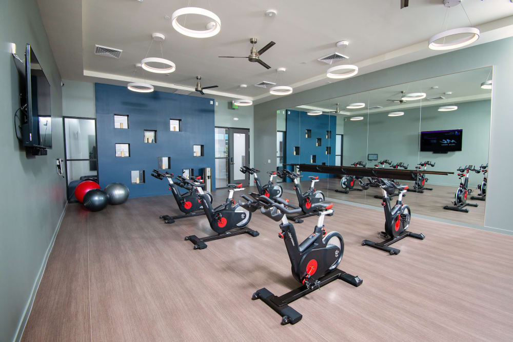 Enjoy Apartments with a Fitness Center at Sky at Chandler Airpark