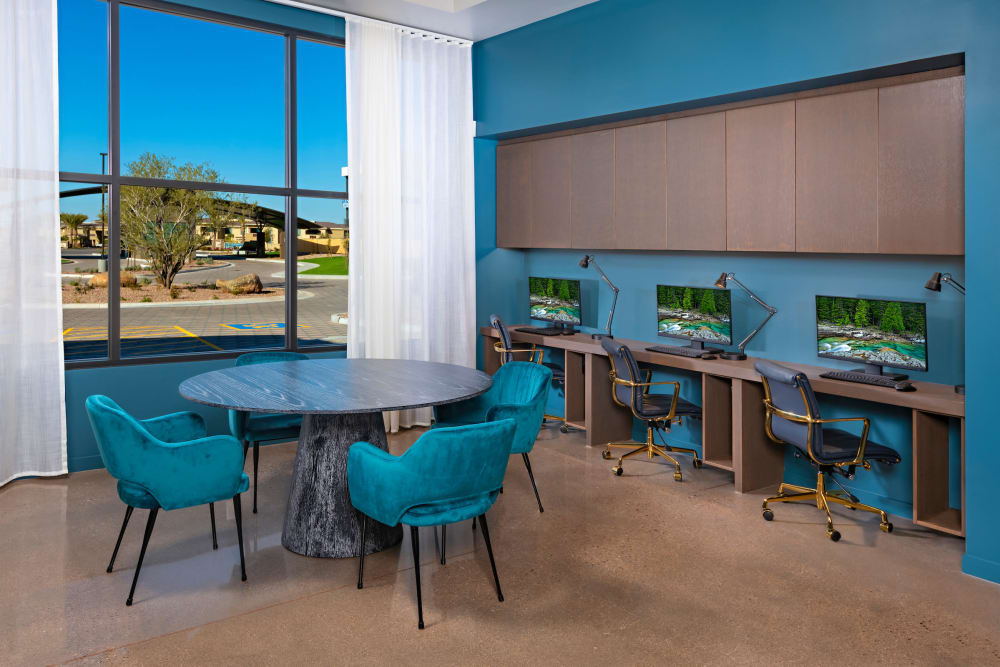 Enjoy Apartments with a Business Center at Sky at Chandler Airpark