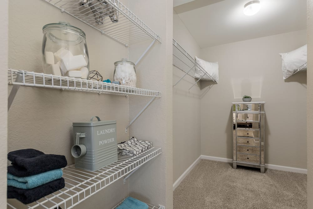 Our Apartments in Hermitage, Tennessee offer Walk-in Closets