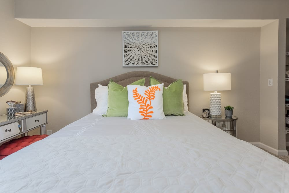 Beautiful Bedroom at Jackson Grove Apartment Homes in Hermitage, Tennessee