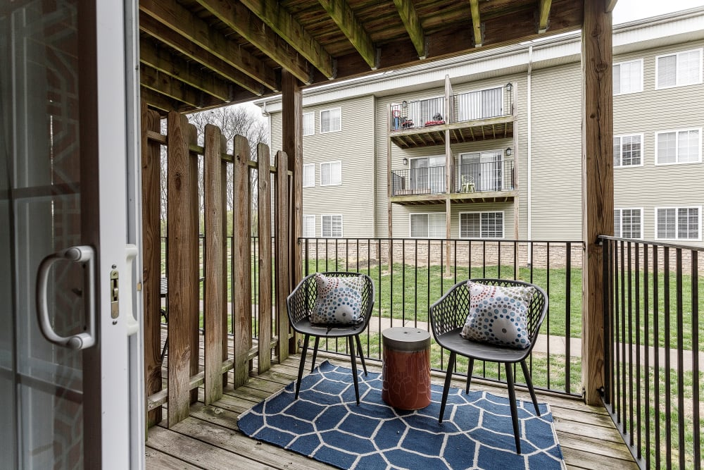 Enjoy Apartments with a Private Patio or Balcony at Jackson Grove Apartment Homes