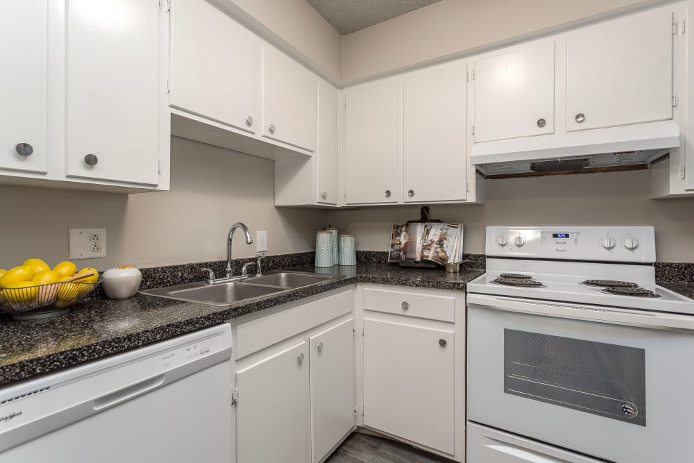 Enjoy Apartments with a Modern Kitchen at Hickory Creek Apartments & Townhomes