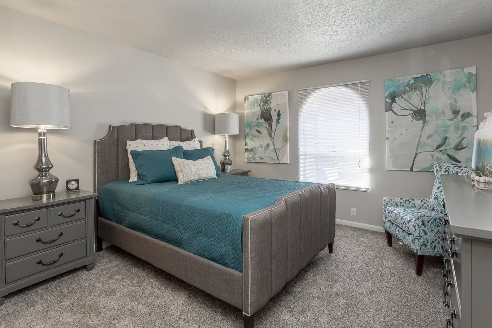 Beautiful Bedroom at Apartments in Nashville, Tennessee