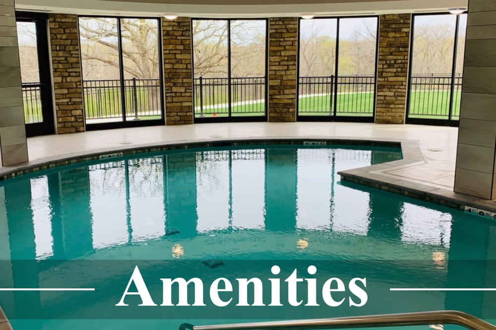 Learn more about the fantastic amenities offered at The Fairways of Ironhorse