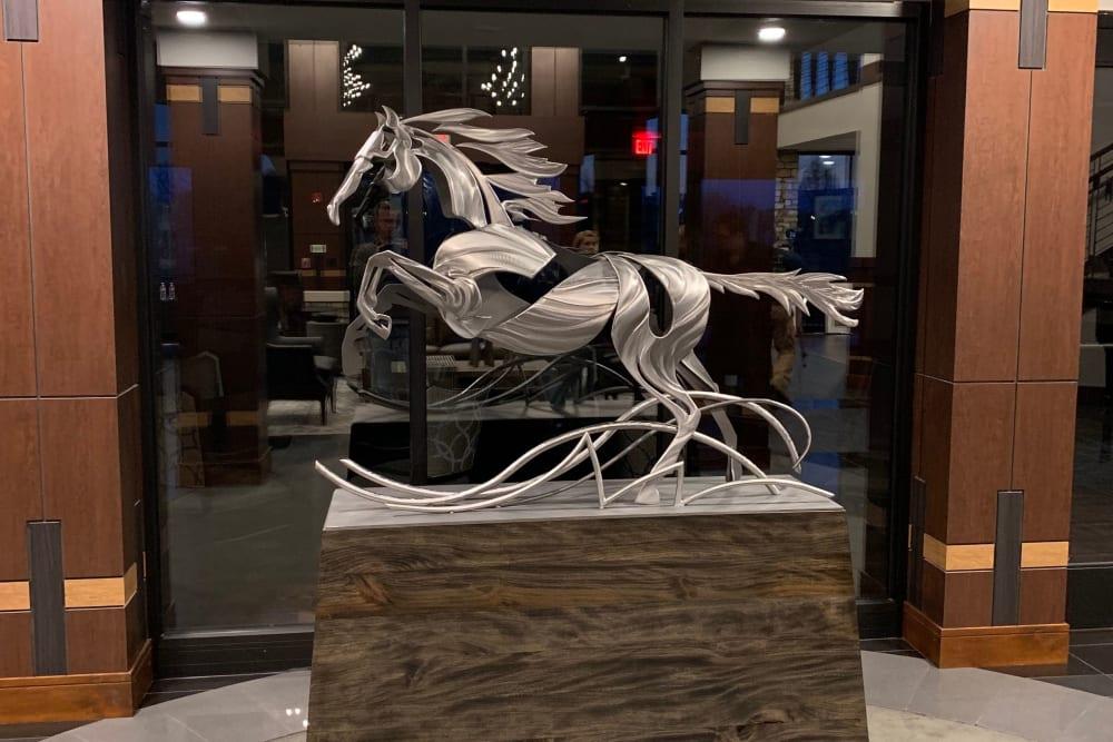 Horse decor The Fairways of Ironhorse in Leawood