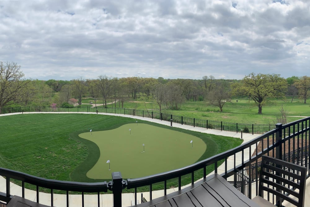 Practice putting greens The Fairways of Ironhorse in Leawood