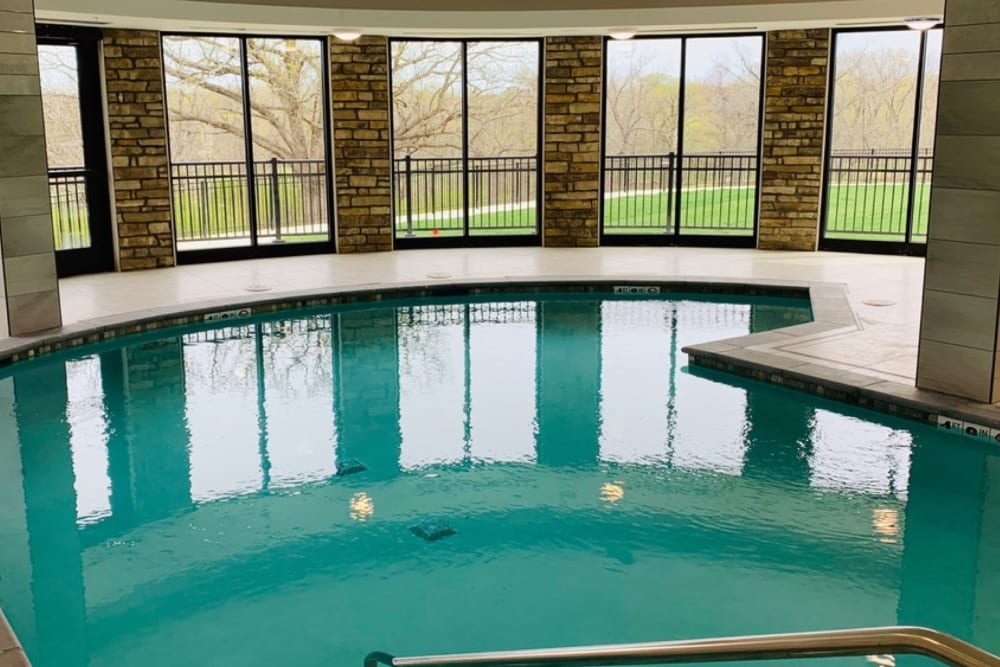 Large swimming pool  The Fairways of Ironhorse in Leawood