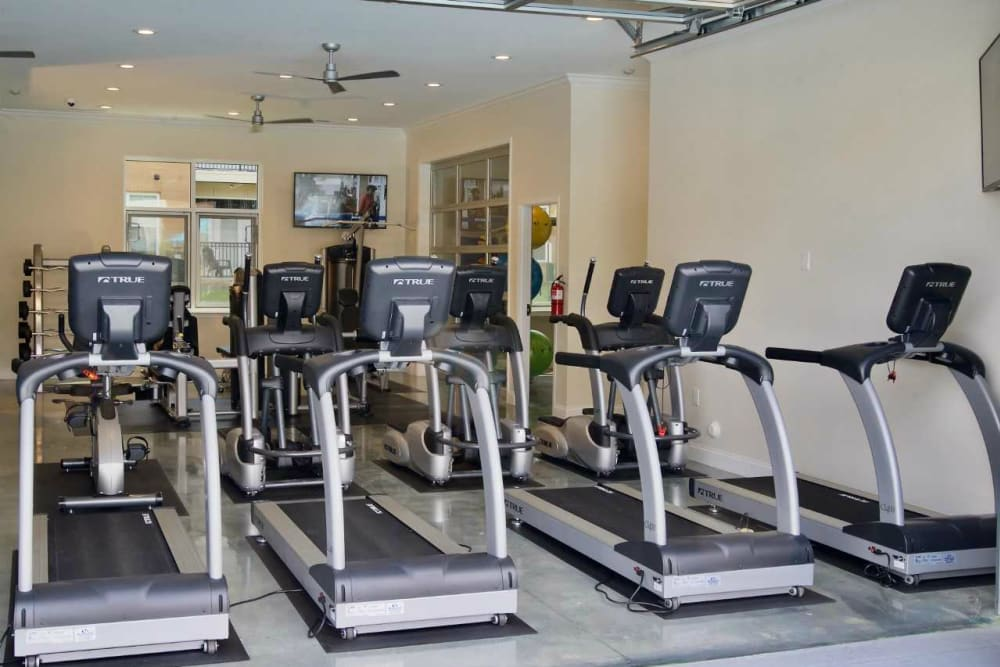 Treadmills at Encore North in Greensboro, North Carolina