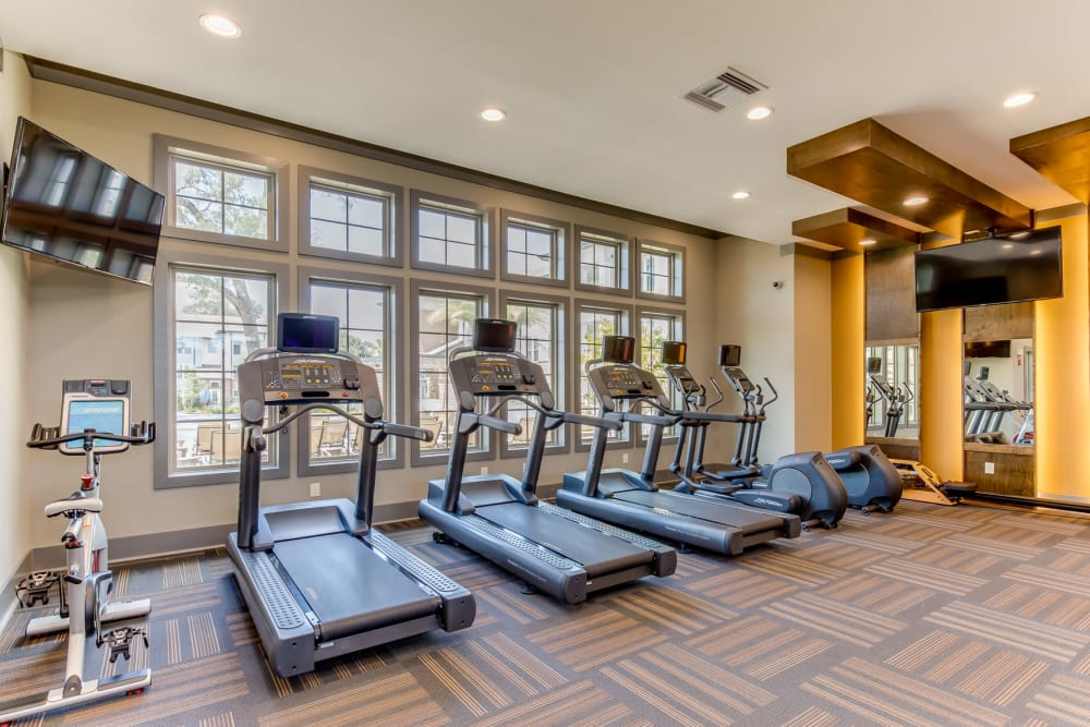 Treadmills at The Loree in Jacksonville, Florida