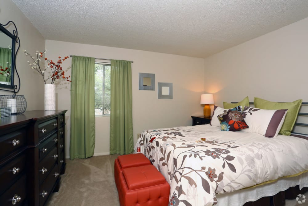 Bedroom at Bridge at Northwest Hills in Austin, Texas