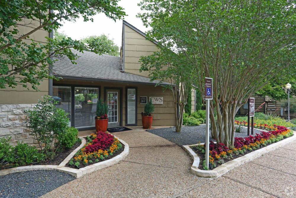 Entrance to Bridge at Northwest Hills in Austin, Texas