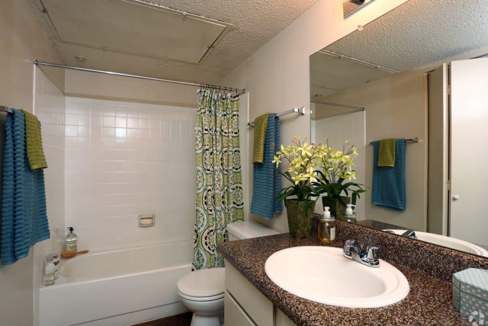 Bathroom at Bridge at Northwest Hills in Austin, Texas