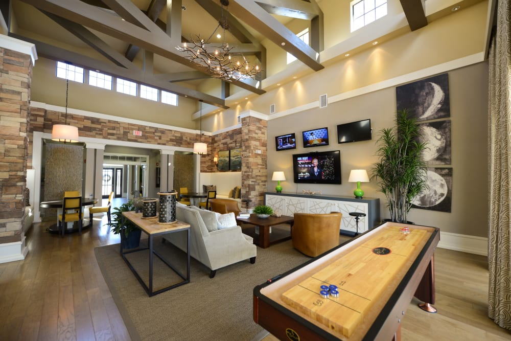 Luxury clubhouse at Terraces at Town Center in Jacksonville, Florida
