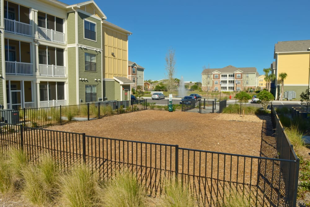 Dog park at Terraces at Town Center in Jacksonville, Florida