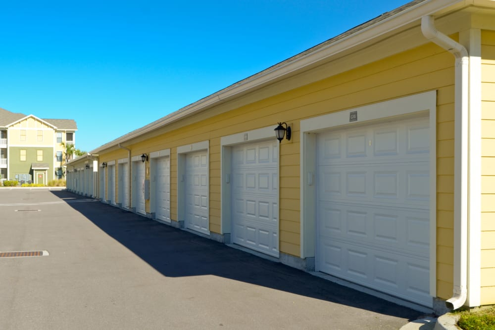 Garages available at Terraces at Town Center in Jacksonville, Florida