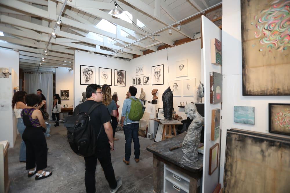 Art gallery near Telegraph Arts in Oakland, California