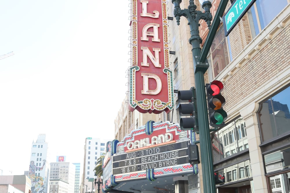 Oakland theatre near Telegraph Arts in Oakland, California