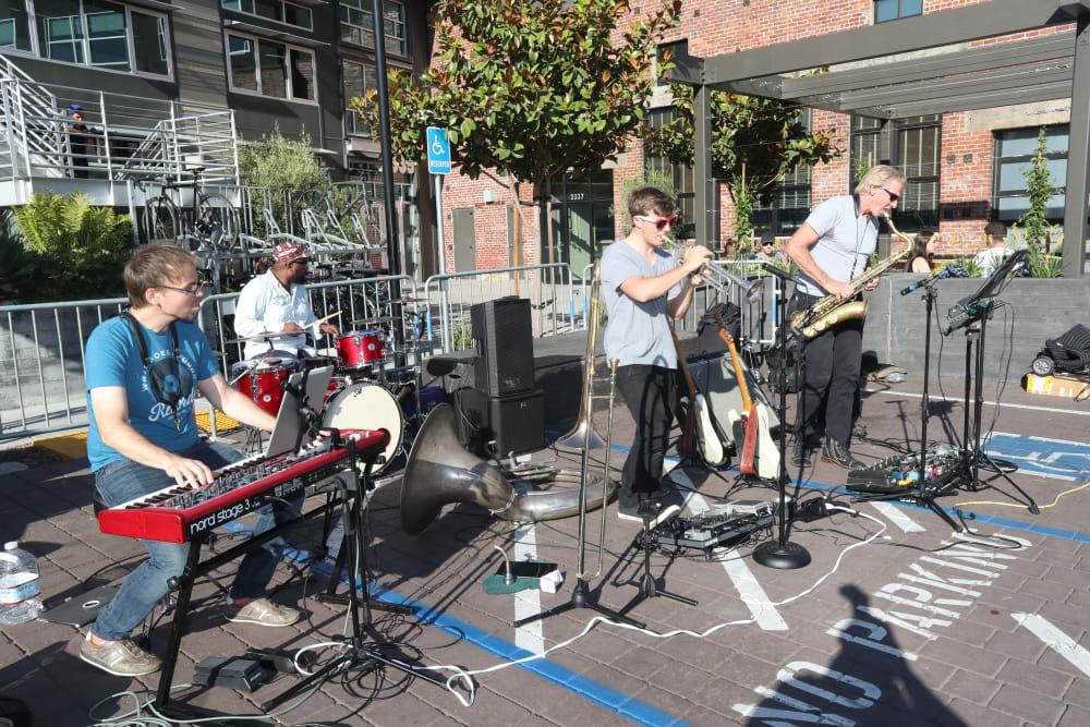 Live music near Telegraph Arts in Oakland, California