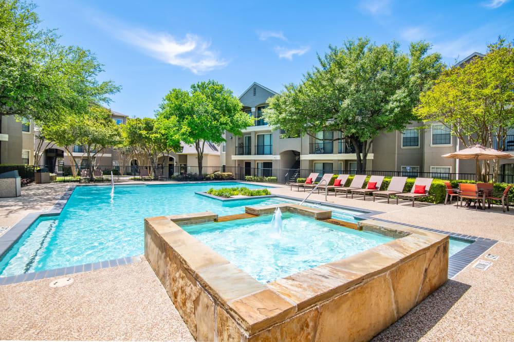 Beautiful Swimming Pool at Briargrove at Vail in Dallas, Texas