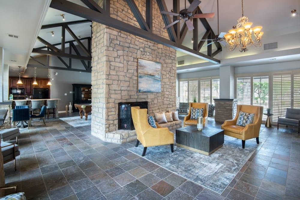 Clubhouse at Villas of Preston Creek in Plano, TX
