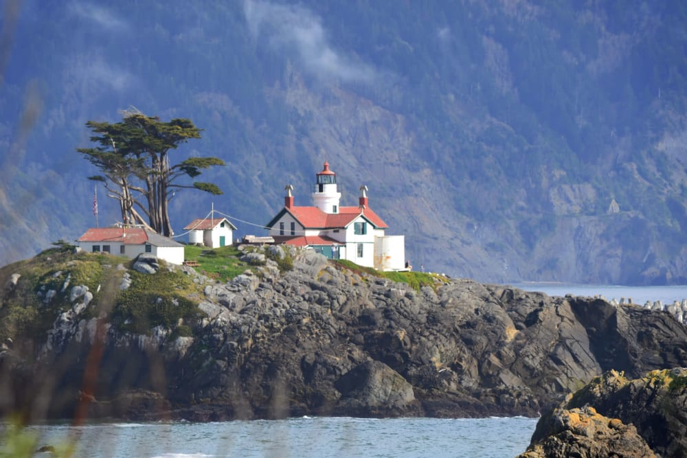 The crescent city island house at Addie Meedom House in Crescent City, California