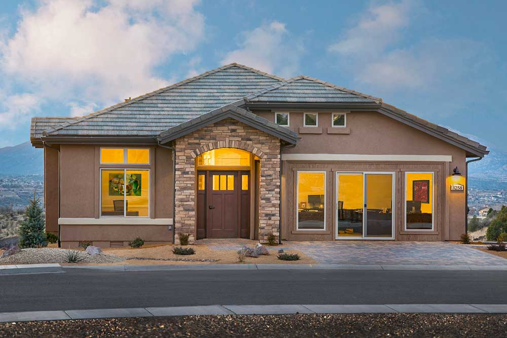 An independent living cottage at Touchmark at The Ranch in Prescott, Arizona