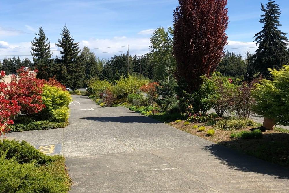Exit from Trojan Storage in Everett, Washington