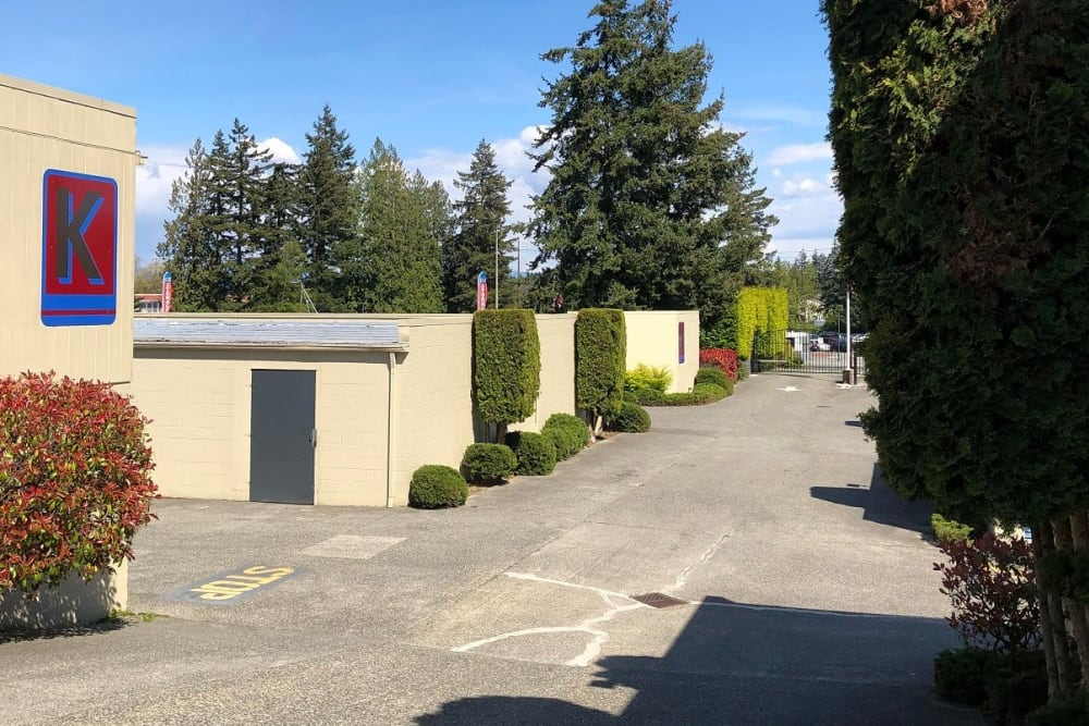 Ample parking space at Trojan Storage in Everett, Washington