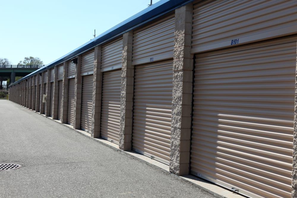Large storage units at Premier Storage Solutions of West Islip in West Islip, New York